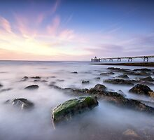 Pastel Incoming Tide by Gary Clark