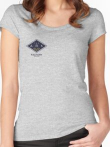 The Ark - Factory Station Women's Fitted Scoop T-Shirt