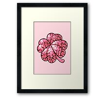 Smart thinking or just dumb luck? Framed Print