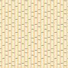 Dandelion Yellow Rice Grain Pattern by Hilda Rytteke
