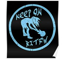 Keep on rockin in the free world. Poster