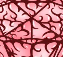 Brain diamond Sticker