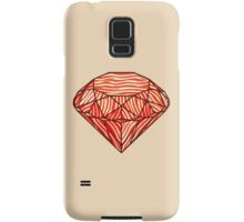 Bacon diamond Samsung Galaxy Case/Skin