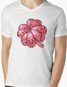 Smart thinking or just dumb luck? Mens V-Neck T-Shirt