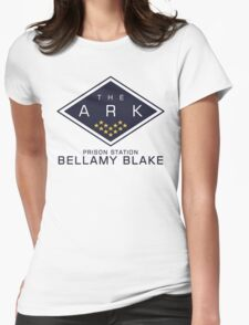 The 100 - Bellamy Blake Womens Fitted T-Shirt