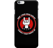 """""""Throw Your Horns Up"""" iPhone Case/Skin"""
