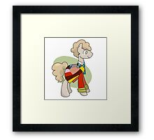 My Little Doctor - 6th green Framed Print