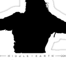 shadow of mordor Sticker
