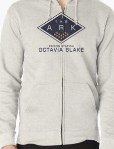 The 100 - Octavia Blake Zipped Hoodie