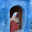 BERBER LADY - MOROCCO by Michael Sheridan