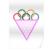 Olympic Gay Ice cream Poster
