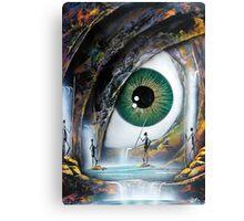Reptile eye Canvas Print