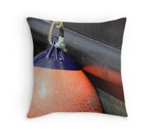 Boat Bumper - Newport, Oregon Throw Pillow