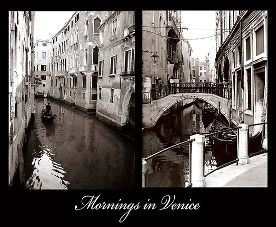 Mornings in Venice by DavidROMAN