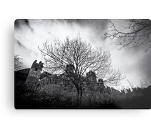 Castle of Fenis, View from the Bushes - Italy Metal Print
