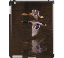 The flight of the Mallard iPad Case/Skin