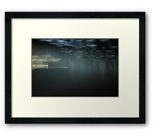 Lights have Landed - JUSTART © Framed Print