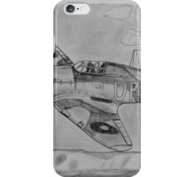 Hurricane above the cliffs of Dover iPhone Case/Skin