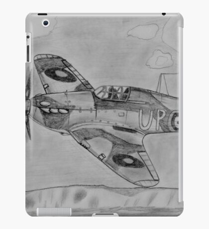 Hurricane above the cliffs of Dover iPad Case/Skin