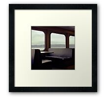 Whidbey Island Ferry Framed Print