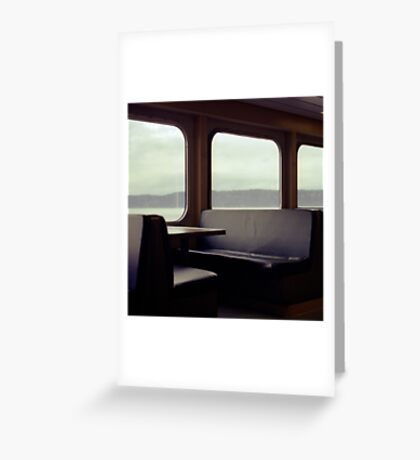 Whidbey Island Ferry Greeting Card