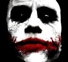 Heath Ledger's Joker by brobenclothing