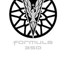 Firebird Formula Logo Flat T by A.S. Williams