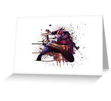 SKT Zed Greeting Card