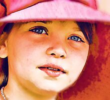 Girl in a Red Hat by Rachel Leigh