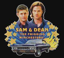 Sam & Dean Vintage Transfer Kids Tee