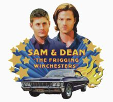 Sam & Dean Vintage Transfer Kids Clothes