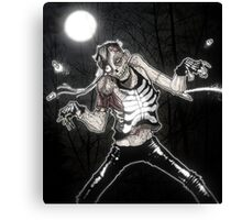 Midnight Shuffle Canvas Print
