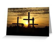 Righteous Sunset Greeting Card