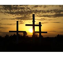 Righteous Sunset Photographic Print