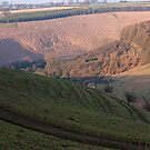 Edge of the Yorkshire Wolds. by John (Mike)  Dobson
