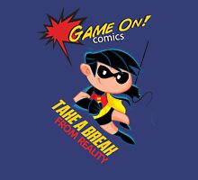 Game On Comics Take a Break with a Friend! Unisex T-Shirt