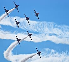 The Red Arrows by Scott Carruthers