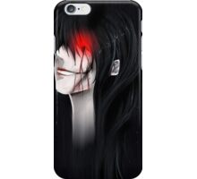 Black iPhone Case/Skin