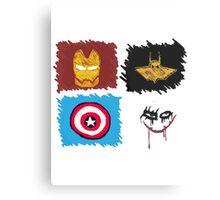 Marvel vs. DC, bro! Metal Print