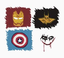 Marvel vs. DC, bro! by brobenclothing
