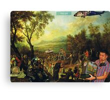 Some People listen to Sermons....others just play X-Box Canvas Print