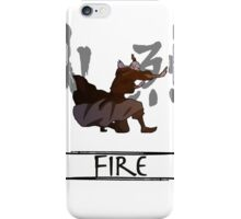 Fire  (with colour)  iPhone Case/Skin