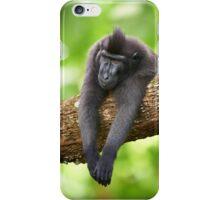 Monday Monkey iPhone Case/Skin