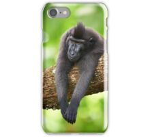 Monday Monkey iPhone Case/Skin