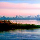 The River Nile, Near Dusk by Mark Ross