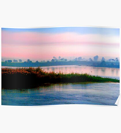 The River Nile, Near Dusk Poster