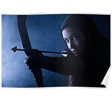 Archery woman Poster