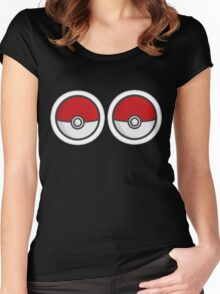 Pokebosoms Women's Fitted Scoop T-Shirt