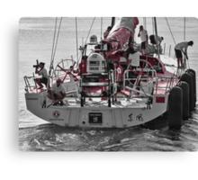 Sailing out Canvas Print