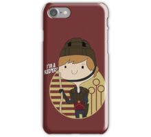 Ron's a Keeper iPhone Case/Skin